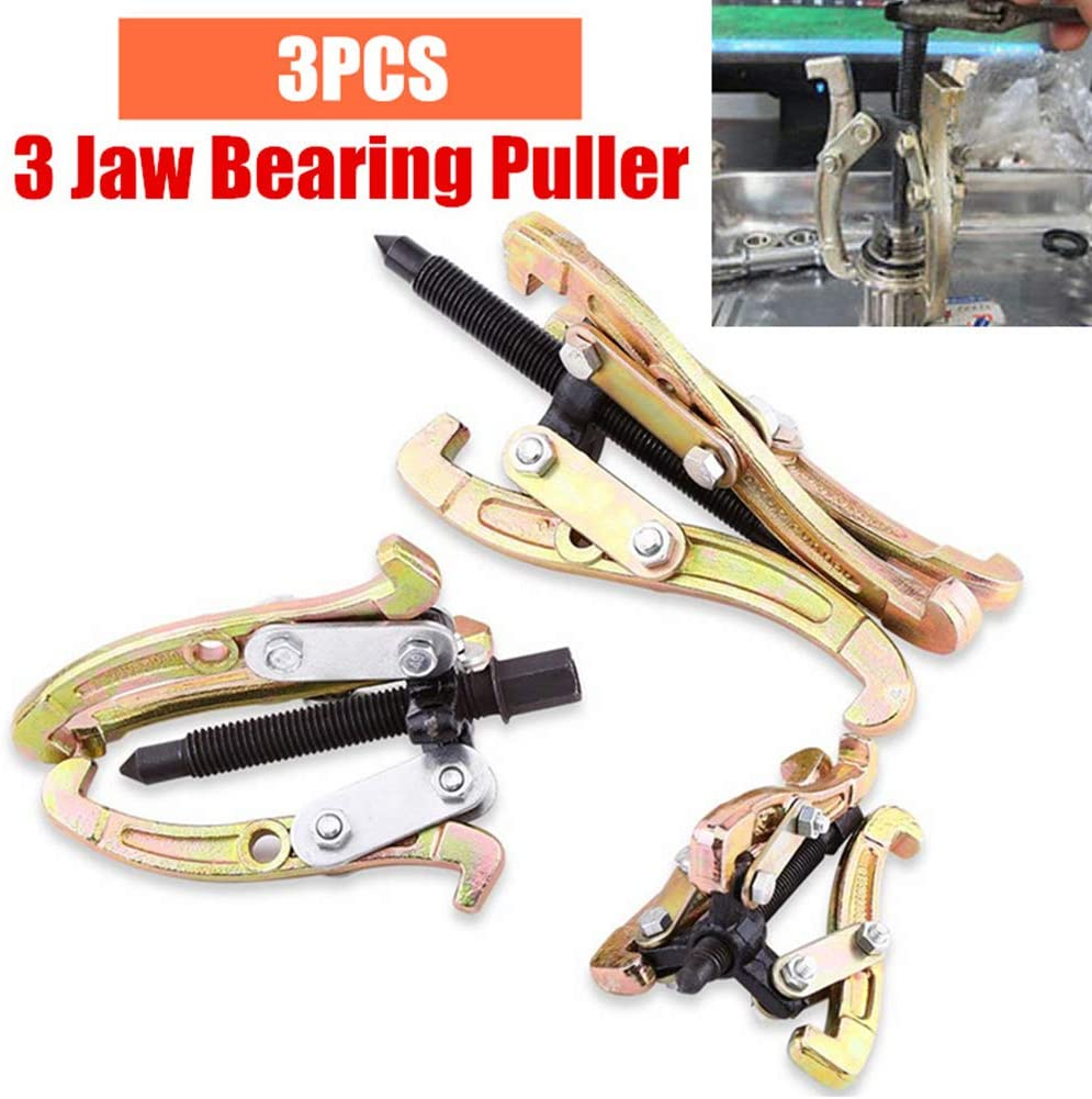 3-jaw GEAR-4 ToolUSA 4 Bearing Puller For Automotive Mechanic