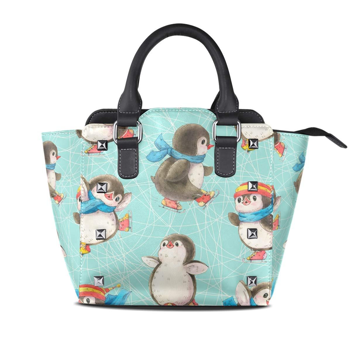 Design5 Handbag Tribal Style Elephant And Lotus Genuine Leather Tote Rivet Bag Shoulder Strap Top Handle Women