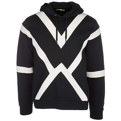 184fba184cc Versace Jeans sweat shirts à capuche homme noir EU M (UK 38) B7GRA7F4