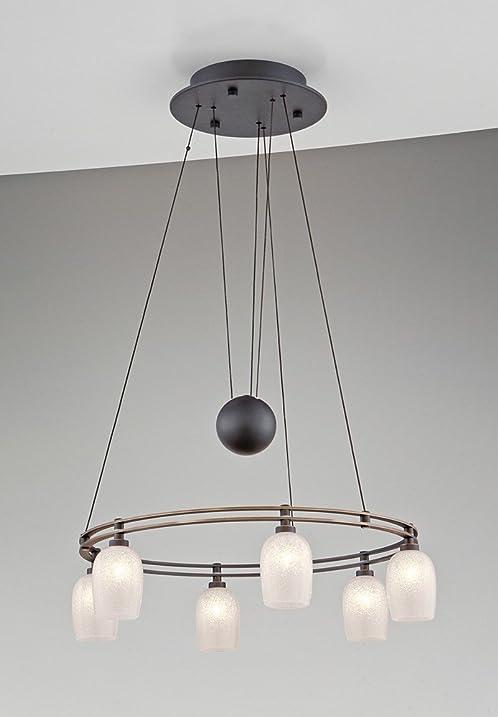 Holtkoetter 5556 hbob g5035 halogen low voltage contemporary chandelier 6 light hand