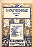 img - for Vintage Piano Sheet Music: HEATHER ROSE (HAIDEROESLEIN) No. 580 from Melody Novelties in the Second and Third Grades, Series Four (Century Certified Edition) book / textbook / text book