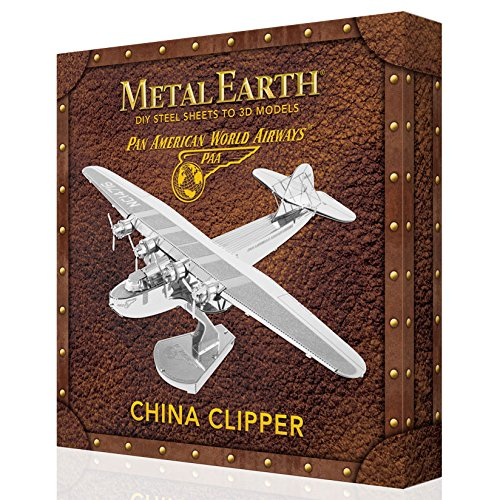 Metal Earth 3D Model Kit-Gift Boxed-5060370-China Clipper-Pan American World Airways-2Pieces