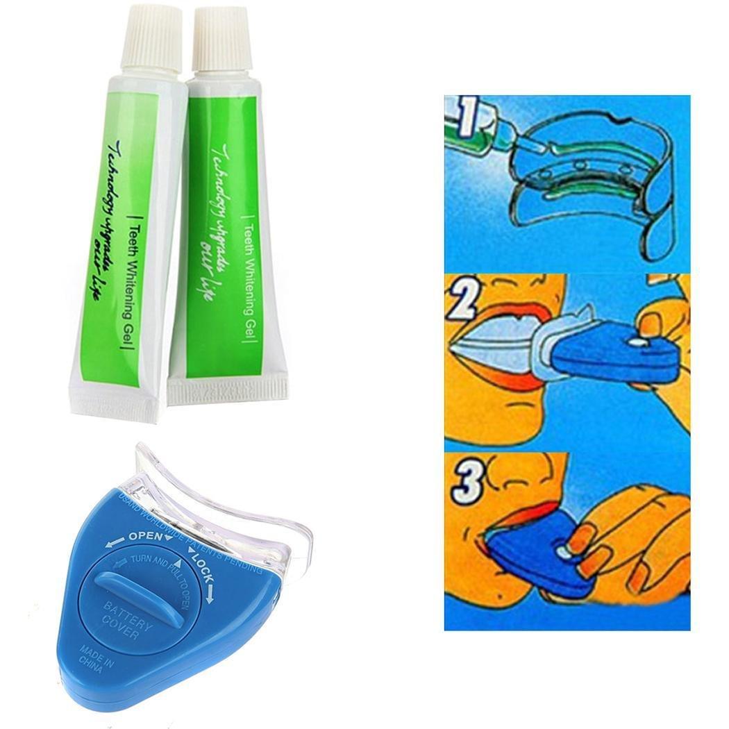 Fashine Oral Gel Teeth Whitening LED Light Accelerator Bleaching Teeth Whitening Kit Whitening Kits