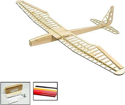 DW Hobby RC Aeroplano Sunbird elettrico aliante apertura alare 1600 mm in legno di balsa costruzione kit copertura