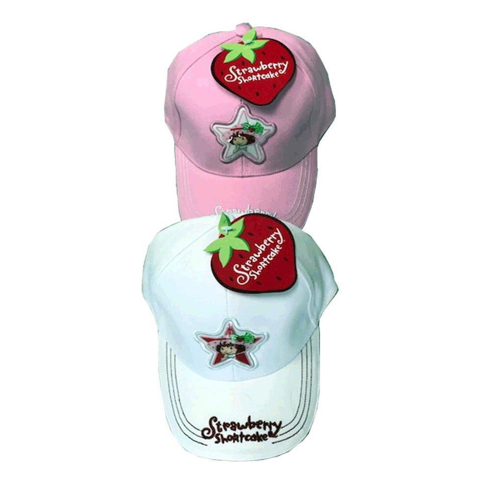 STRAWBERRY SHORTCAKE CAP WHITE