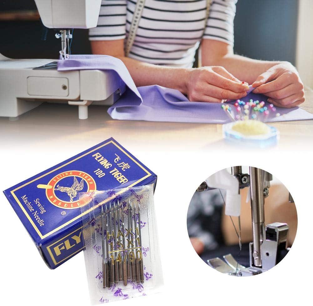 14B 90 16B Universal Regular Point F/ür Haushaltsmaschinen Elektrische N/ähmaschinen Purplert 100PCS N/ähmaschinennadeln Eisenlegierung Langlebig 90 Heimgebrauch