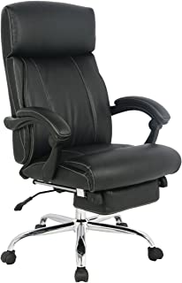 VIVA OFFICE Reclining Office Chair High Back Bonded Leather Chair with Footrest- Viva08501  sc 1 st  Amazon.com & Amazon.com: VIVA OFFICE Fashionable High Back Bonded Leather ... islam-shia.org