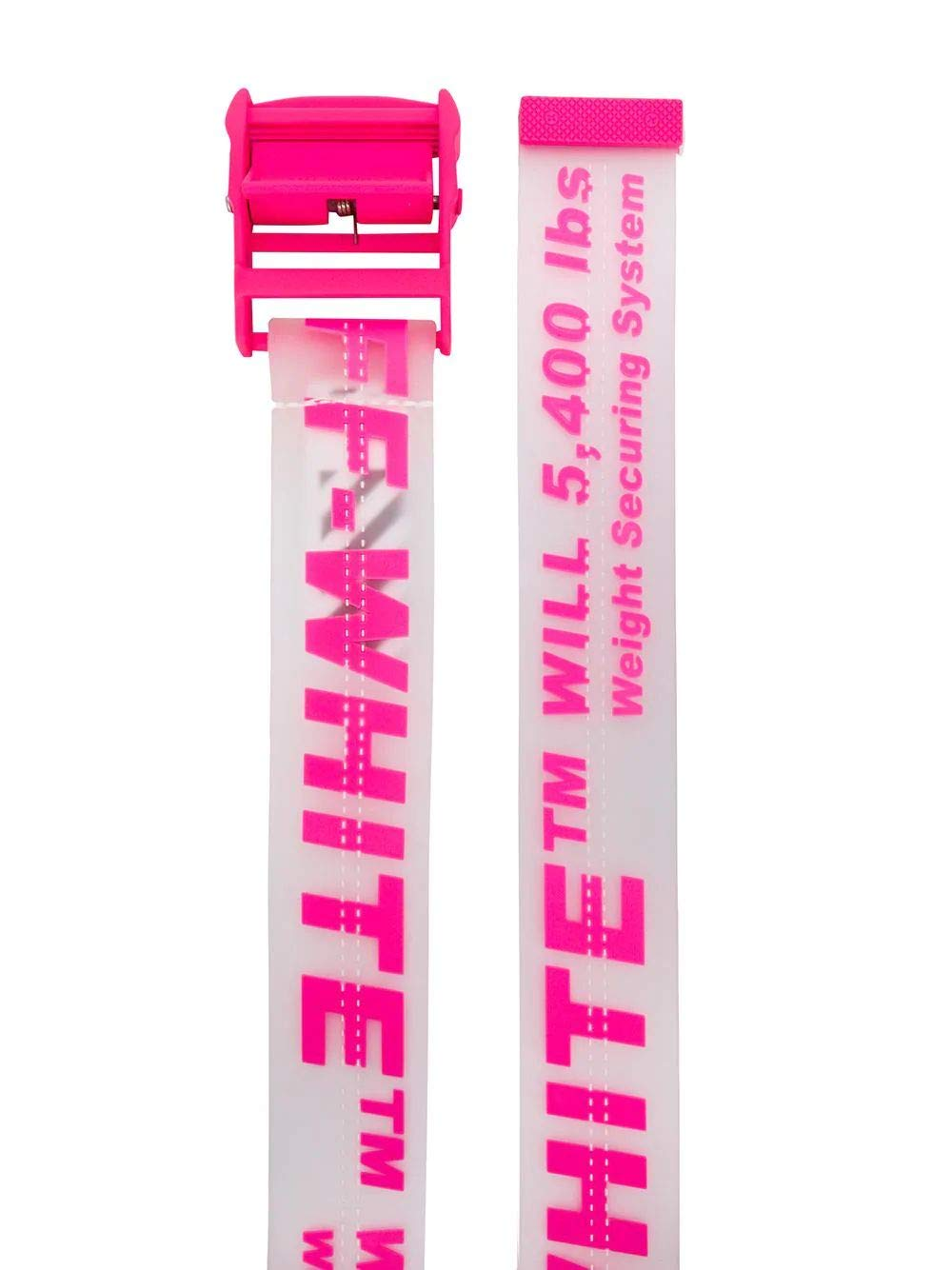 Off-White Women's Owrb009r198510889828 Pink Pvc Belt by off white 13 (Image #2)