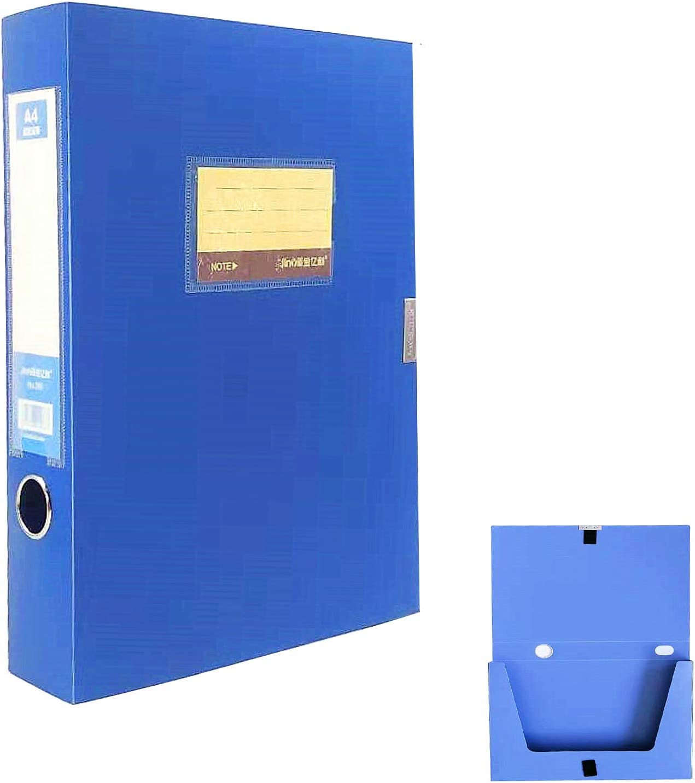A4 Storage Archives Cases File Boxes Plastic Archive Box Office Supplies Plastic Box A4 Data Box File Storage Folder Storage Box (deep)