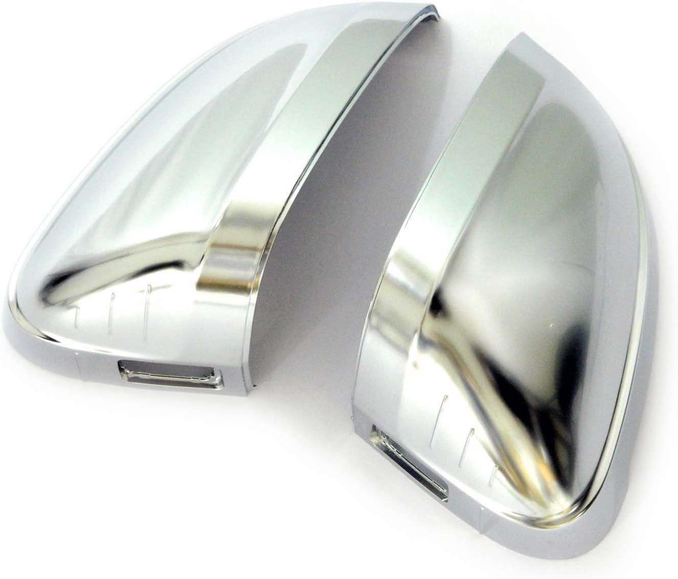 A4 S4 B9 mit Spurwechselassistent Aluminium Style Spiegelkappen