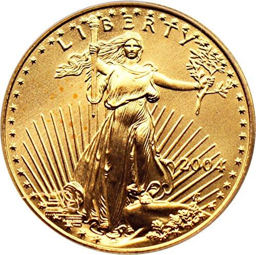 2004 P $25 American Eagles – Gold Gold Eagle Twenty Five Dollar MS69 PCGS