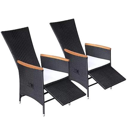 Amazon.com: 2 unidades. Sillas de comedor reclinables para ...