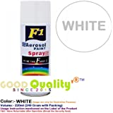 F1 Aerosol Spray Paint (White)