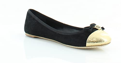 97350784f07ef Amazon.com: Tory Burch Chelsea Ballet w/Cap Toe Soho Lux Suede Flats ...
