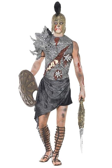 Disfraz de Zombie gladiador romano antiguo traje de los ...