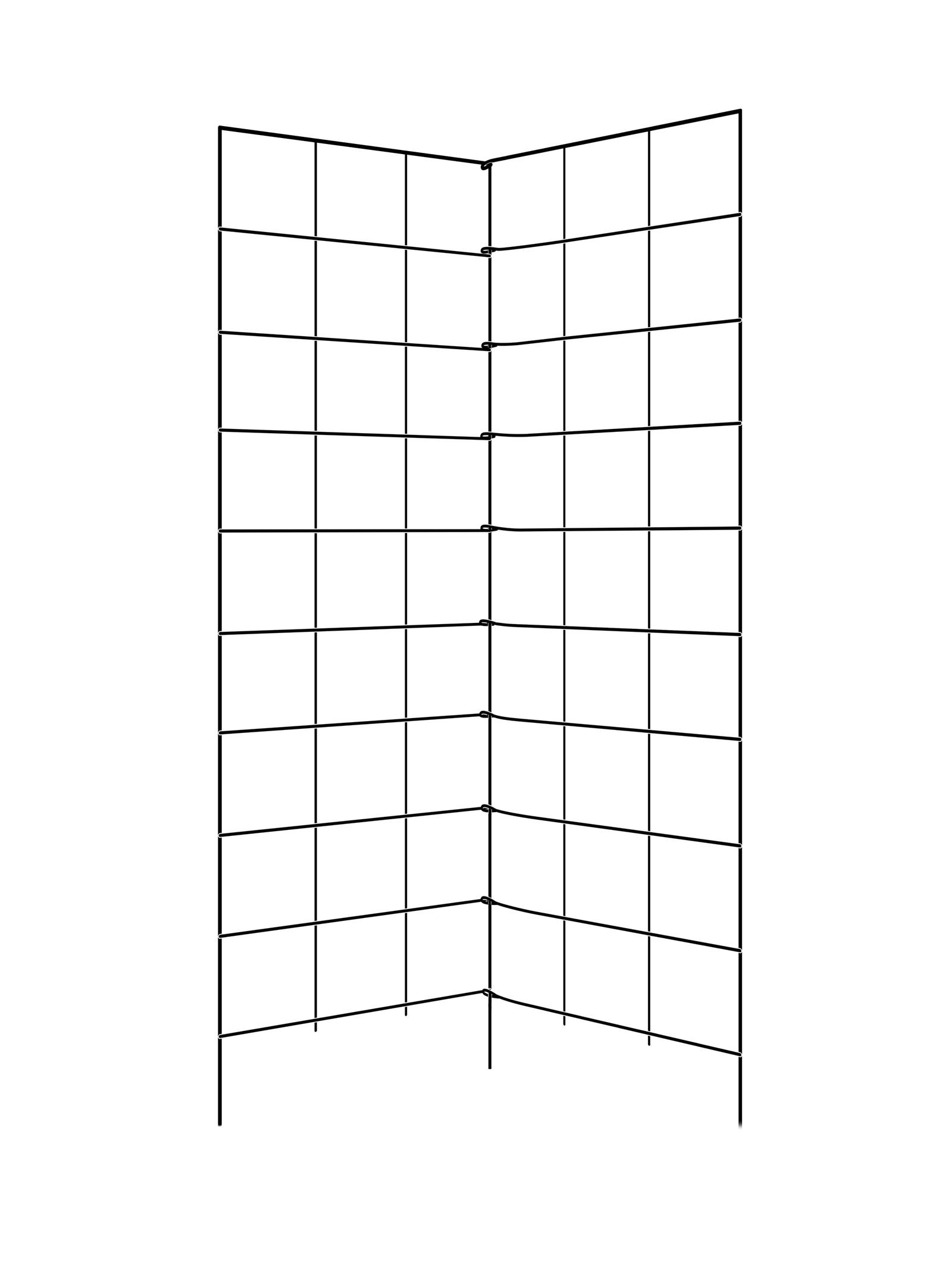 Gardener's Supply Company Two Panel Folding Trellis