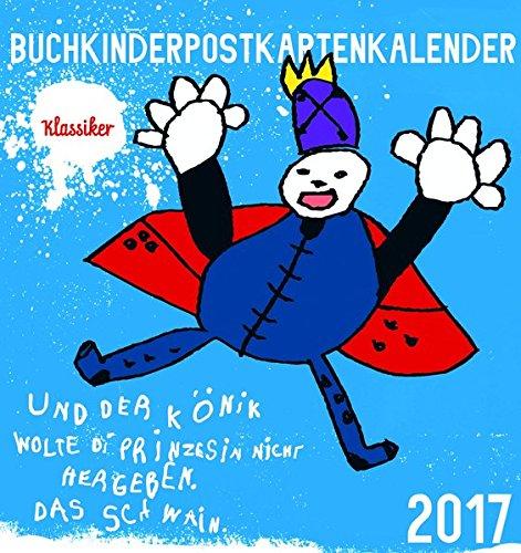 Buchkinder-Postkartenkalender 2017: Unsere Klassiker