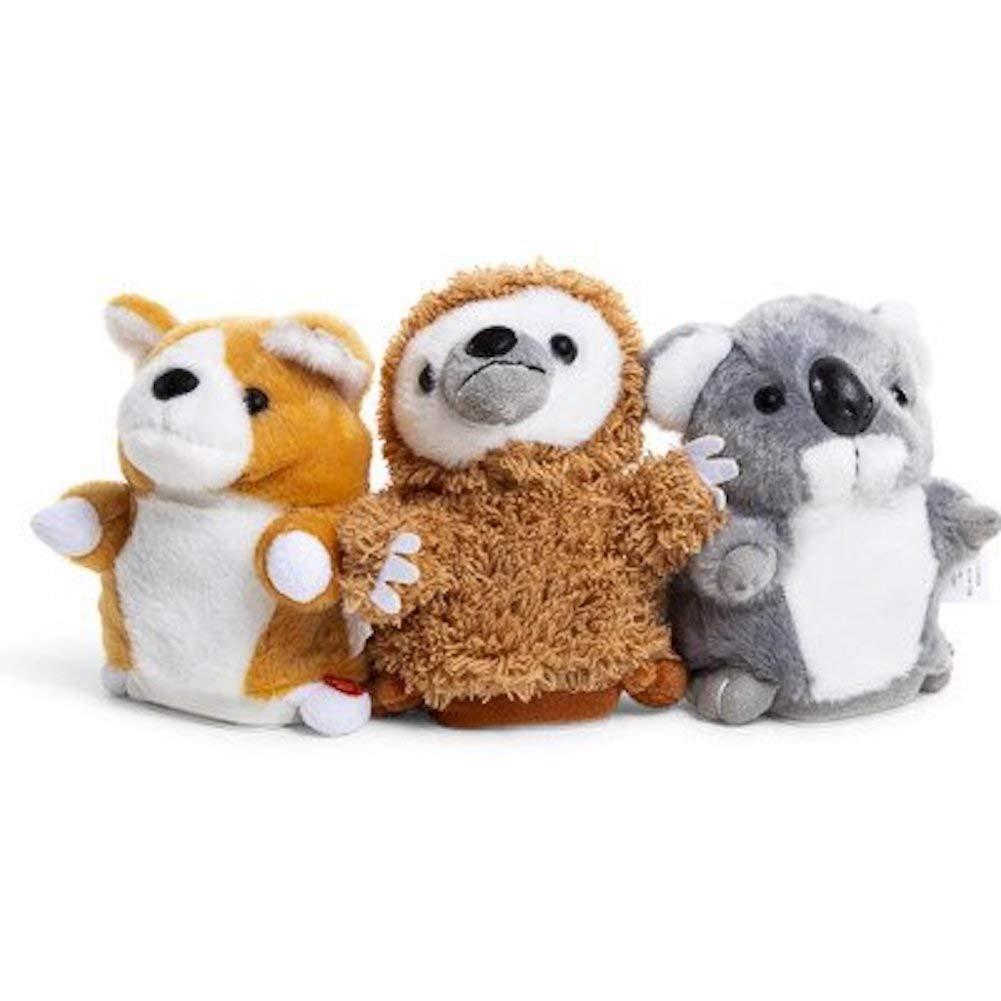 Gener8 Talk Back Pet Plush Interactive Toy Sloth