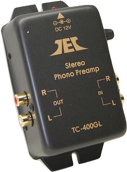 Technolink TC-400GL RIAA Phono Preamp Version 2.0; Better Specs Universal Voltage