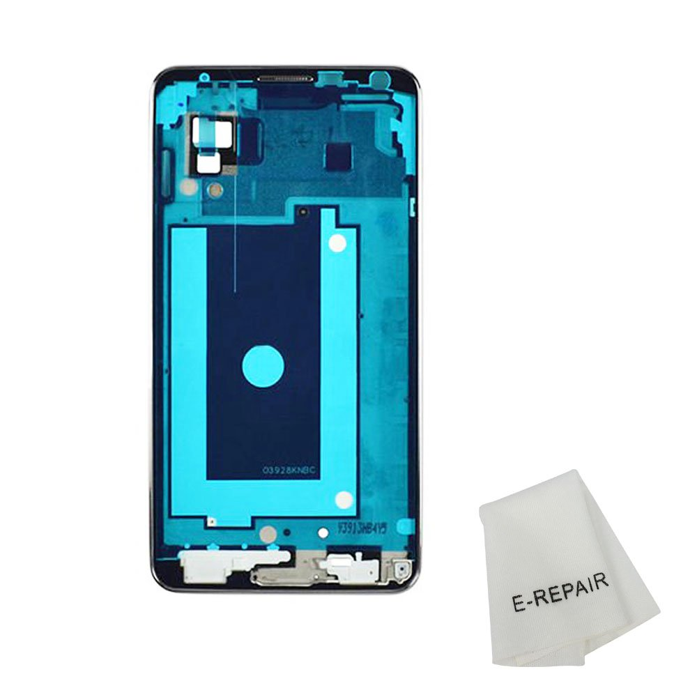 Front Plate Frame Faceplate Housing Bezel for Samsung Galaxy Note 3 N900 3g Version (Silver)