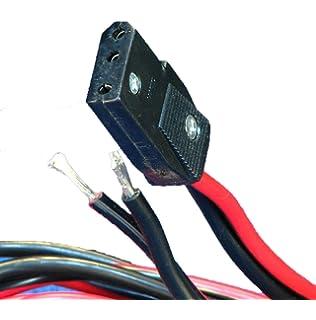 3 pin power cord extra heavy duty 12 ga for cb / ham radios - workman