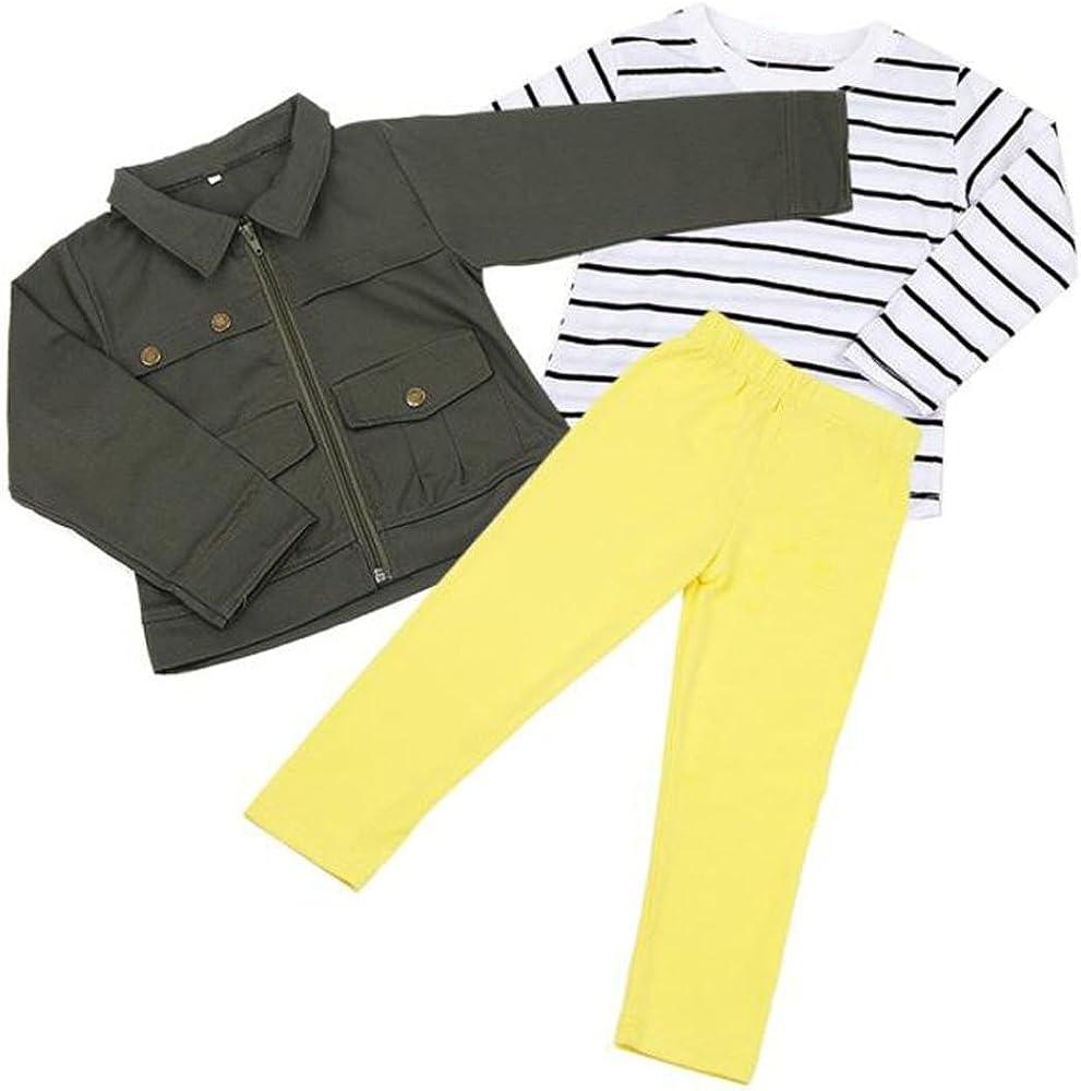 Covermason Niña Calentar Manga larga Camiseta y Capa y Pantalones (1 Conjunto) (2Años, Ejercito Verde): Amazon.es: Ropa y accesorios