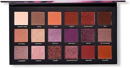 Nemopter Paleta de maquillaje con 18 colores Paleta de maquillaje de sombra de ojos mate y brillo pigmentado de larga duración: Amazon.es: Belleza