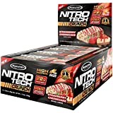 quest bar cheesecake - MuscleTech NitroTech Crunch Protein Bar, Strawberry Cheesecake, 22 Grams Protein, 5 Grams of Fiber, 240 Calories, Low Carb, Gluten Free, 65g Bars, 12 Count