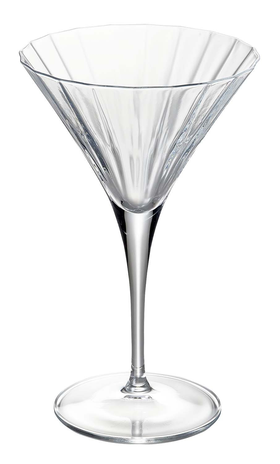 Luigi Bormioli Bach Martini Glasses, 8.75 oz, Set of 4