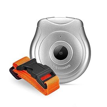 KOBWA - Cámara de Collar para Perro, USB Digital, cámara para Mascotas, grabadora