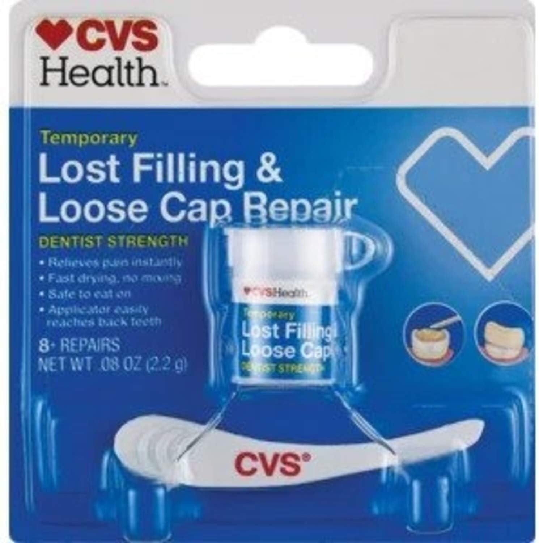 Temporary Lost Filling & Loose Cap Repair: Health & Personal Care