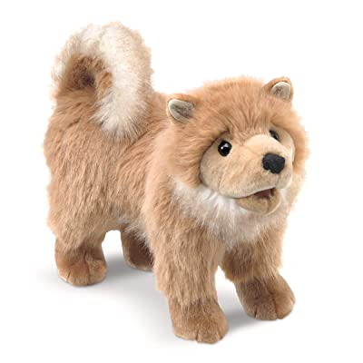 Pomeranian Puppy Hand Puppet: Toys & Games