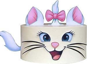 Kitty Cake Topper Cat Cake Decor Dessert Decoration Birthday Party Supplies