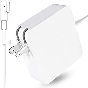 Book Pro Charger 85W L-Tip Power Adapter Charger Cord for MacBook Pro 13-inch 15-inch and 17-inch (Before Mid 2012 Models)