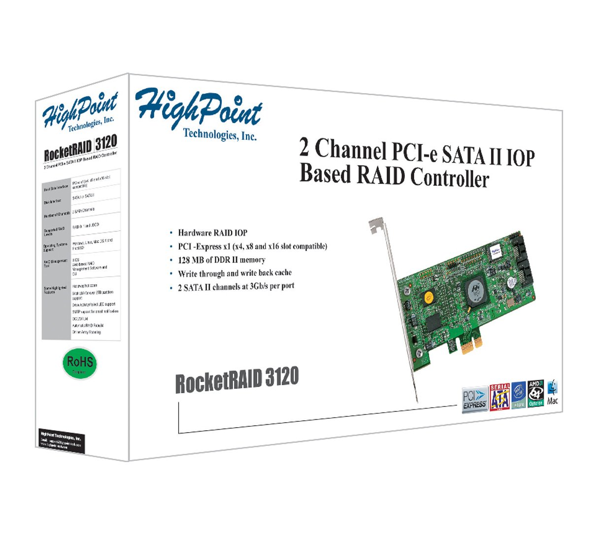 HIGHPOINT ROCKETRAID 3120 SATA CONTROLLER WINDOWS 10 DOWNLOAD DRIVER