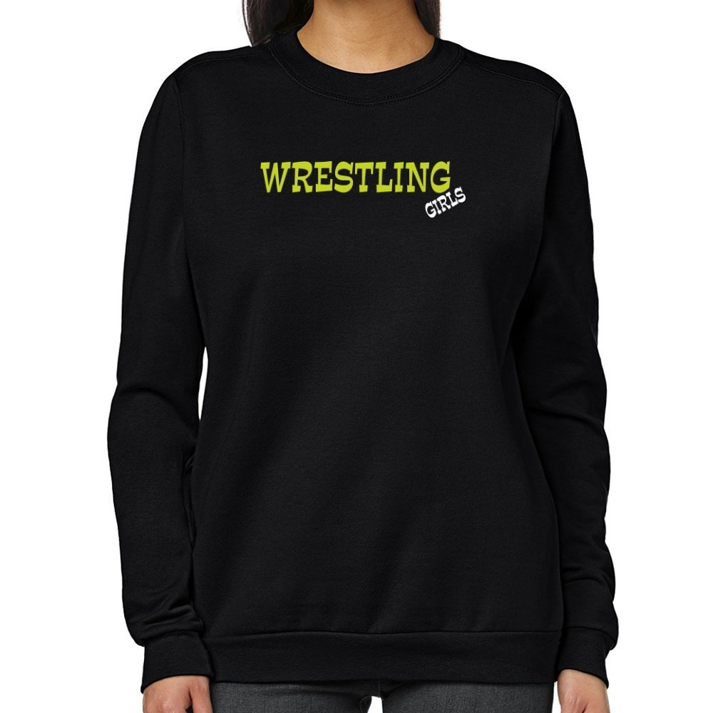 Teeburon Wrestling GIRLS Women Sweatshirt by Teeburon