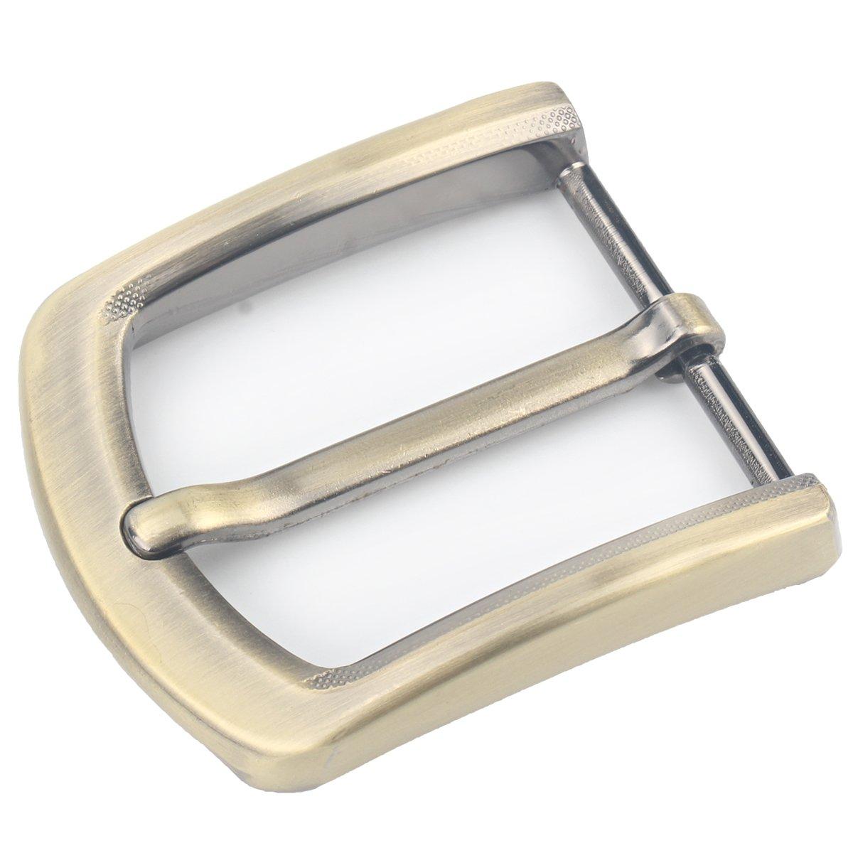 McFanBe 1.5(37-40mm) Fibbia per Cintura Quadrata a Singolo Polo per la Sostituzione