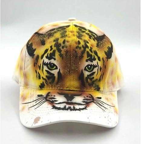 TRGFB Baseball Cap Nuevo 3D Animal Pintado a Mano Impresión Tiger ...