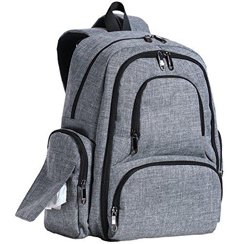 Sleeping Lamb Diaper Backpack Pockets