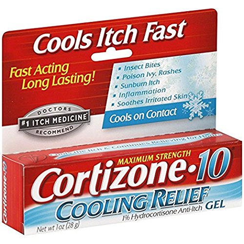 Cortizone-10 Cooling Relief Anti-Itch Gel 1 oz (Pack of 3)