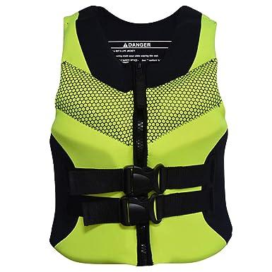 Chaleco de Natación Unisexo Adulto - Hombre Mujer Chaleco de Flotador Protección contra Colisión Anti-Piercing Mejor para el Surf Kayak de Lujo: Amazon.es: ...