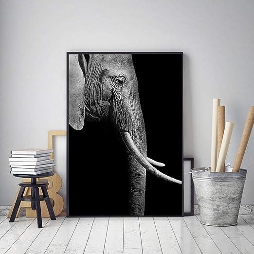 Amazon Com Jhljianju 1 Panel Yagliboya Modern Siyah Beyaz Sanat