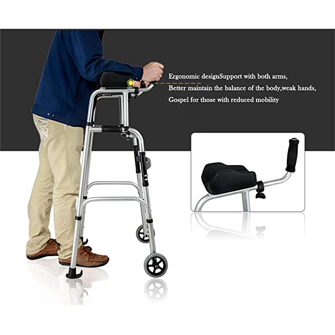 Andadores ancianos plegable,Andadores adulto con asiento ...