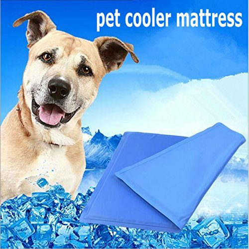 Cooper life Self Cooling Gel Pet Mat,Summer Sleep Cooling Mat/Pad with Easy to Clean,Non-Toxic——Prevent Overheating and Dehydration for Dogs,Cats&Pets. Perfect for Bed,Chair,Floor, Couch& Kennel (L) by Cooper life (Image #6)