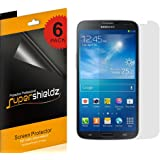 """[6-Pack] Supershieldz- (HD) Clear Screen Protector for Samsung Galaxy Mega 6.3""""+ Lifetime Replacements Warranty Samsung Galaxy Mega Screen Protector (AT&T, T-Mobile, Sprint, Verizon) [6-PACK]"""