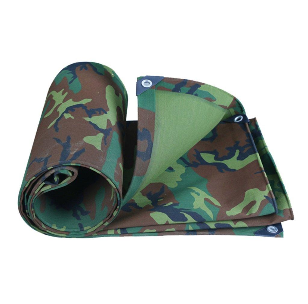X-L-H Toile De Camouflage Militaire épais Tissu Imperméable Imperméable Prougeection Solaire BÂche Canopée Huile Canopée Tente Tissu De Pluie Tente 100% Prougeection UV Et Imperméable à L'eau  4MX5M