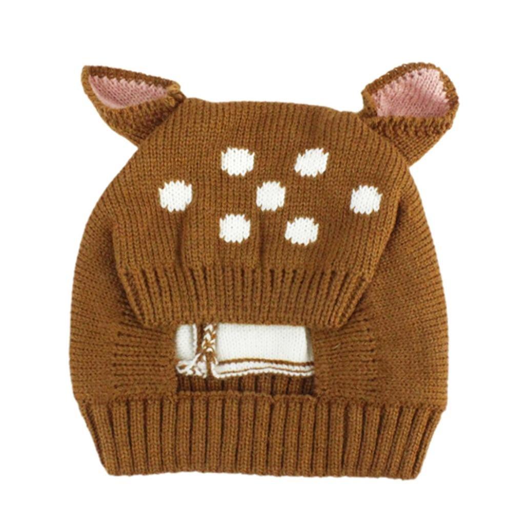 Baby Mütze Clode® Herbst und Winter Baby Hut Mädchen Jungen Kappen Kind Hut Kleinkind Kinderhut LLL70804022PK