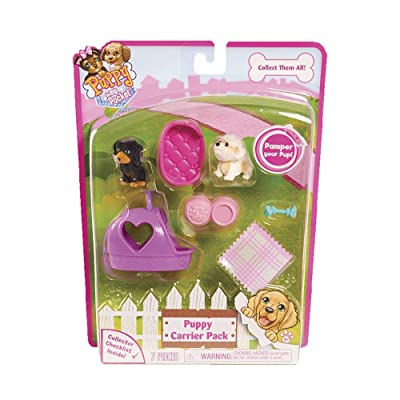Puppy In My Pocket - Blister 2 Cachorros Purple Carrier (Giochi Preziosi PMP13000): Juguetes y juegos