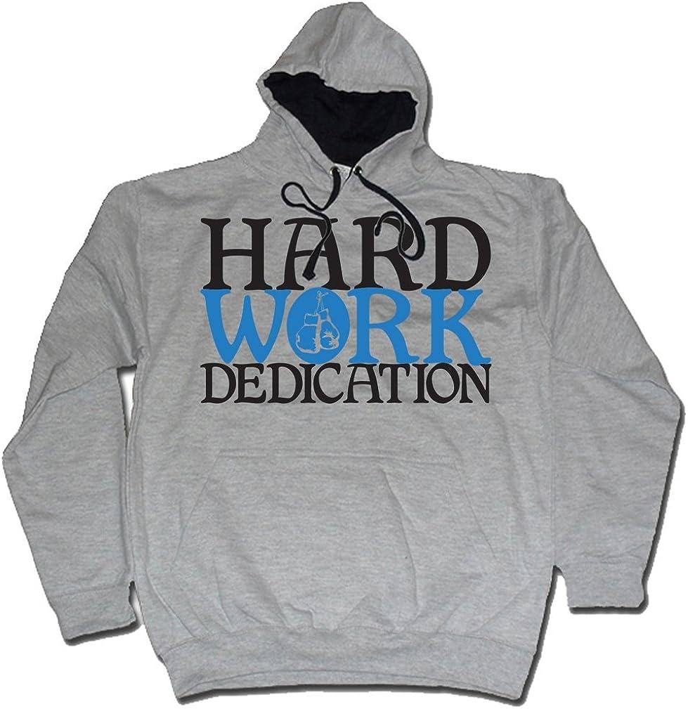 Dibbs Clothing Mens Hard Work Dedication Mp3 Boxing Hoody