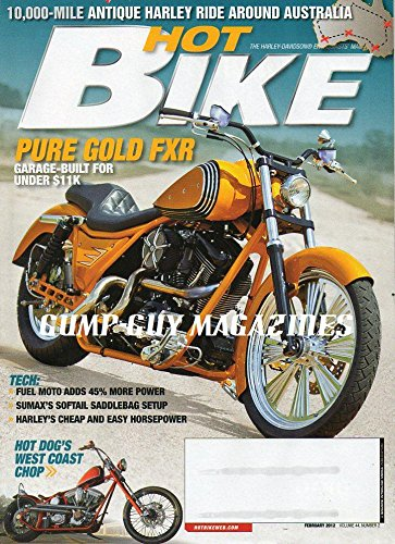 Hot Bike Magazine February 2012 HOT DOG
